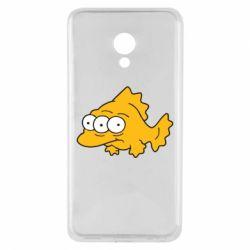 Чехол для Meizu M5 Simpsons three eyed fish - FatLine