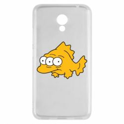 Чехол для Meizu M5c Simpsons three eyed fish - FatLine