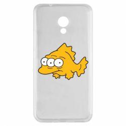 Чехол для Meizu M5s Simpsons three eyed fish - FatLine