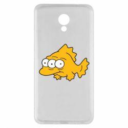 Чехол для Meizu M5 Note Simpsons three eyed fish - FatLine