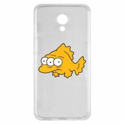 Чехол для Meizu M6s Simpsons three eyed fish - FatLine