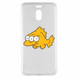 Чехол для Meizu M6 Note Simpsons three eyed fish - FatLine