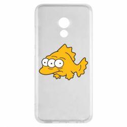Чехол для Meizu Pro 6 Simpsons three eyed fish - FatLine