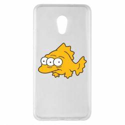 Чехол для Meizu Pro 6 Plus Simpsons three eyed fish - FatLine