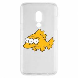 Чехол для Meizu 15 Simpsons three eyed fish - FatLine