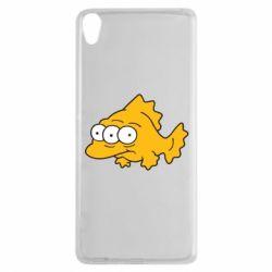 Чехол для Sony Xperia XA Simpsons three eyed fish - FatLine