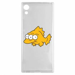 Чехол для Sony Xperia XA1 Simpsons three eyed fish - FatLine
