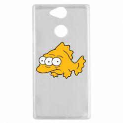 Чехол для Sony Xperia XA2 Simpsons three eyed fish - FatLine