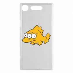 Чехол для Sony Xperia XZ1 Simpsons three eyed fish - FatLine