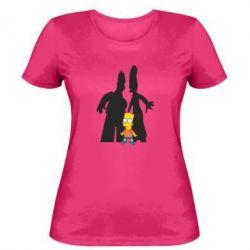 Женская футболка Simpsons - FatLine
