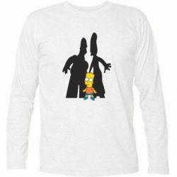 Футболка с длинным рукавом Simpsons - FatLine