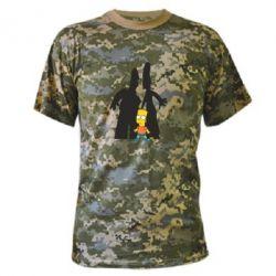 Камуфляжная футболка Simpsons - FatLine