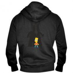 Мужская толстовка на молнии Simpsons - FatLine