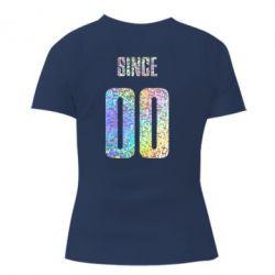 Жіноча футболка Since голограма