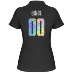 Женская футболка поло Since голограмма