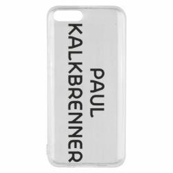 Чехол для Xiaomi Mi6 Singer Paul Kalkbrenner