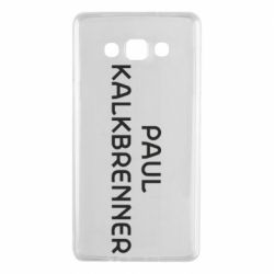 Чехол для Samsung A7 2015 Singer Paul Kalkbrenner