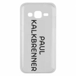 Чехол для Samsung J2 2015 Singer Paul Kalkbrenner