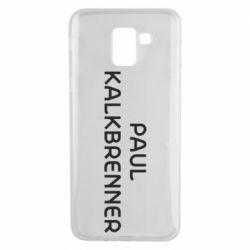 Чехол для Samsung J6 Singer Paul Kalkbrenner