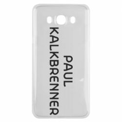 Чехол для Samsung J7 2016 Singer Paul Kalkbrenner