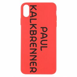 Чохол для iPhone Xs Max Singer Paul Kalkbrenner