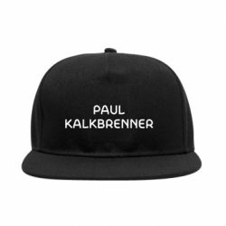 Снепбек Singer Paul Kalkbrenner