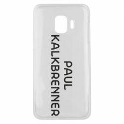 Чохол для Samsung J2 Core Singer Paul Kalkbrenner