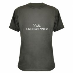 Камуфляжная футболка Singer Paul Kalkbrenner