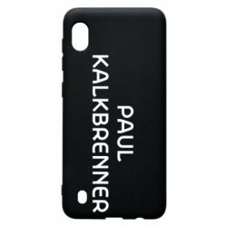 Чохол для Samsung A10 Singer Paul Kalkbrenner