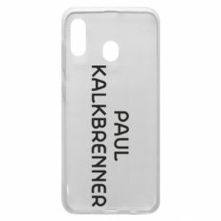 Чехол для Samsung A20 Singer Paul Kalkbrenner