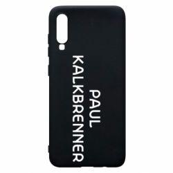 Чохол для Samsung A70 Singer Paul Kalkbrenner