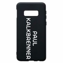 Чохол для Samsung S10e Singer Paul Kalkbrenner