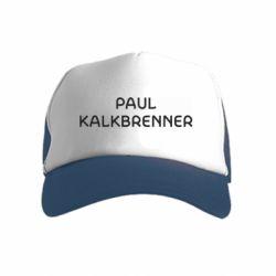 Детская кепка-тракер Singer Paul Kalkbrenner