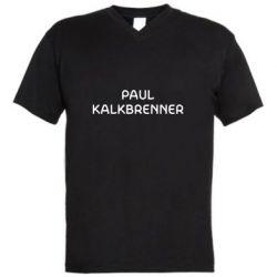 Чоловіча футболка з V-подібним вирізом Singer Paul Kalkbrenner
