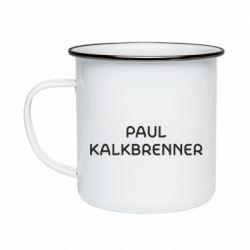 Кружка емальована Singer Paul Kalkbrenner