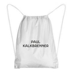 Рюкзак-мішок Singer Paul Kalkbrenner