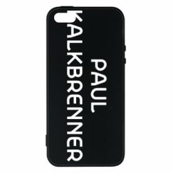 Чехол для iPhone5/5S/SE Singer Paul Kalkbrenner