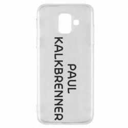Чохол для Samsung A6 2018 Singer Paul Kalkbrenner
