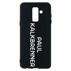 Чохол для Samsung A6+ 2018 Singer Paul Kalkbrenner