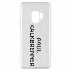 Чехол для Samsung S9 Singer Paul Kalkbrenner