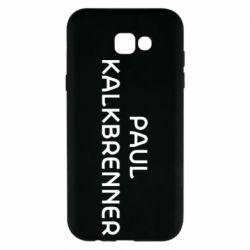 Чохол для Samsung A7 2017 Singer Paul Kalkbrenner