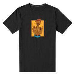 Чоловіча стрейчева футболка Singer Tupac Shakur