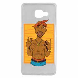 Чохол для Samsung A7 2016 Singer Tupac Shakur