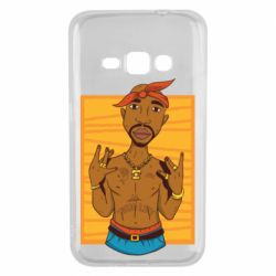 Чохол для Samsung J1 2016 Singer Tupac Shakur
