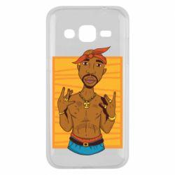 Чохол для Samsung J2 2015 Singer Tupac Shakur