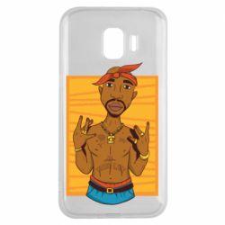 Чохол для Samsung J2 2018 Singer Tupac Shakur