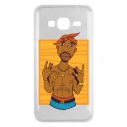 Чохол для Samsung J3 2016 Singer Tupac Shakur