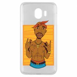 Чохол для Samsung J4 Singer Tupac Shakur