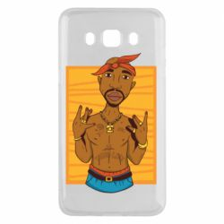 Чохол для Samsung J5 2016 Singer Tupac Shakur