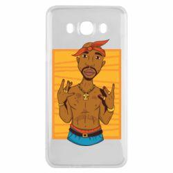 Чохол для Samsung J7 2016 Singer Tupac Shakur